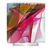 Color Symphony Shower Curtain