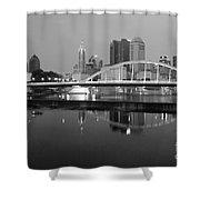 Downtown Skyline Of Columbus Ohio Shower Curtain