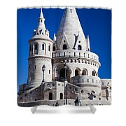 Fisherman's Bastion In Budapest Shower Curtain