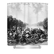 Francis Marion (1732?-1795) Shower Curtain