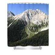 Kindersley Pass Shower Curtain