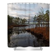 Koirajarvi Shower Curtain