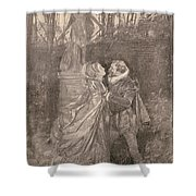 Mary Queen Of Scots (1542-1587) Shower Curtain