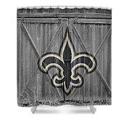 New Orleans Saints Shower Curtain by Joe Hamilton