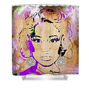 Nicki Minaj Diamond Earring Collection Shower Curtain