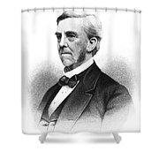 Oliver Wendell Holmes Shower Curtain