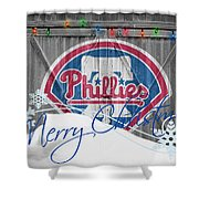 Philadelphia Phillies Shower Curtain