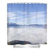 Sea Of Fog Shower Curtain