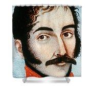 Simon Bolivar (1783-1830) Shower Curtain