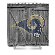 St Louis Rams Shower Curtain
