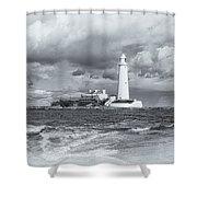 St Marys Lighthouse Shower Curtain