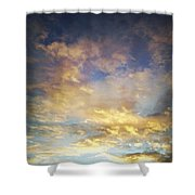 Sunset Sky Shower Curtain