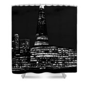 The Shard And Southbank London Shower Curtain