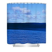 Waves Splashing In The Sea Shower Curtain