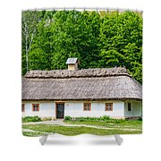 A Typical Ukrainian Antique House Shower Curtain