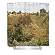 94 Degrees In The Shade, 1876 Shower Curtain