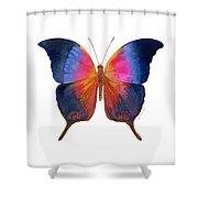 96 Brushfoot Butterfly Shower Curtain