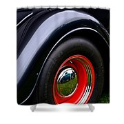 30's Classic Ford Pickup Shower Curtain