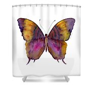 99 Marcella Daggerwing Butterfly Shower Curtain