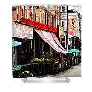 9th Street Italian Market Philadelphia Shower Curtain