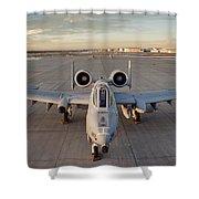 A-10 Shower Curtain