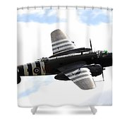 A B-25 Mitchell Performs At The Arctic Shower Curtain