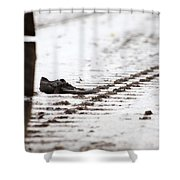 A Bad Day Shower Curtain