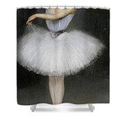 A Ballerina Shower Curtain