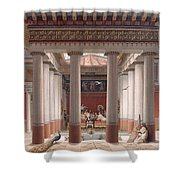 A Banquet In Ancient Greece Shower Curtain