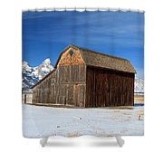 A Barn With A View Shower Curtain
