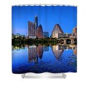 A Beautiful Austin Evening Shower Curtain