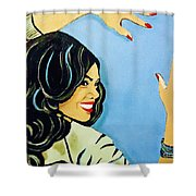 A Beautiful Girl 2 Shower Curtain