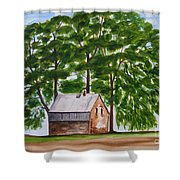 A Beautiful Place On Earth Shower Curtain