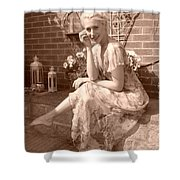A Beautiful Smile Shower Curtain