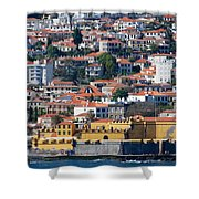 A Bit Of Funchal Shower Curtain
