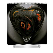 A Bit Of Heart Burn Shower Curtain