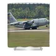 A Boeing C-17 Globemaster IIi Shower Curtain