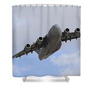 A Boeing C-17 Globemaster IIi Taking Shower Curtain