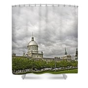 A Bonsecours Day  Shower Curtain