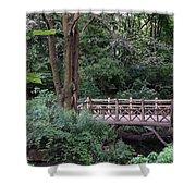 A Bridge In Central Park Shower Curtain