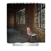 A Broken Serenade Shower Curtain