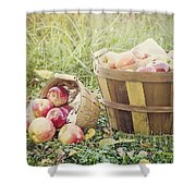A Bushel And A Peck Shower Curtain