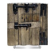 A Cahir Castle Door Shower Curtain