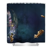 A Catcher Of Dreams Shower Curtain
