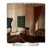 A Cell In Santa Catalina Monastery Shower Curtain by RicardMN Photography