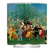 A Centennial Of Independence Shower Curtain