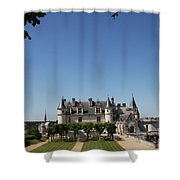 A Chateau Like From A Fairy Taile Shower Curtain