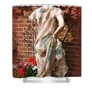 A Cheeky Autumn  Shower Curtain