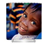 A Child's Smile Is One Of Life's Greatest Blessings Shower Curtain