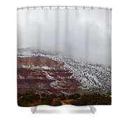 A Cold Afternoon Shower Curtain